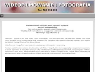 wideofilmowanie.ostroleka.pl screenshot