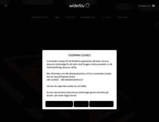 widerlov.se screenshot