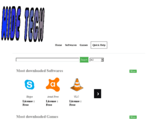 widetech.uphero.com screenshot