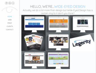 wideyedesign.com screenshot