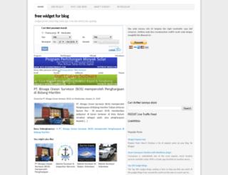 widgetfree.blogspot.com screenshot