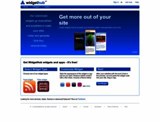 widgethub.net screenshot