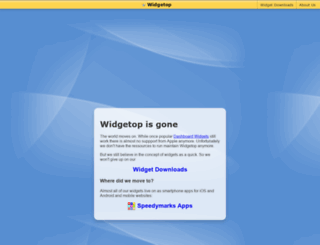 widgetop.com screenshot