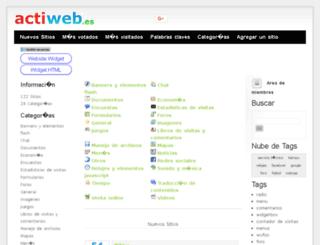widgets.actiweb.es screenshot
