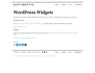 widgets.wordpress.com screenshot