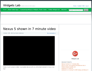 widgetslab.com screenshot