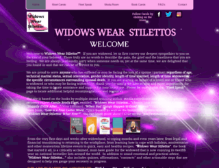 widowswearstilettos.com screenshot