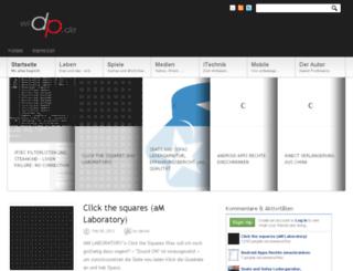 widp.de screenshot