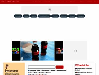 wie-sagt-man-noch.de screenshot