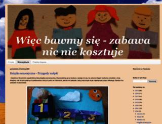 wiecbawmysie.blogspot.com screenshot