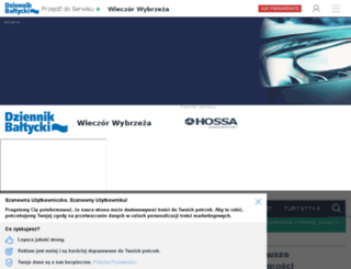 wieczor.dziennikbaltycki.pl screenshot