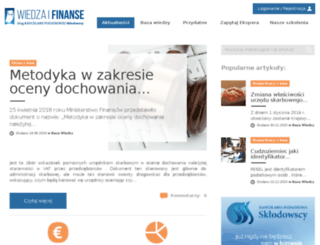wiedzaifinanse.pl screenshot