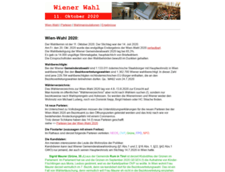 wiener-wahl.at screenshot