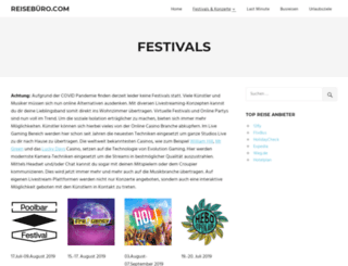wiesen-festivals.at screenshot