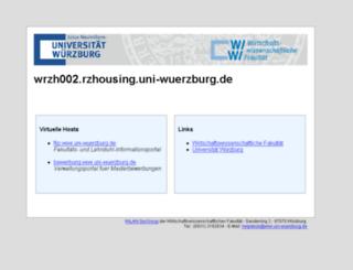 wifak.uni-wuerzburg.de screenshot