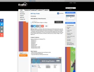 wifi-key-finder.gearboxcomputers.com screenshot