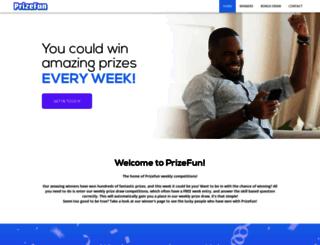 wifi.prizefun.co.uk screenshot