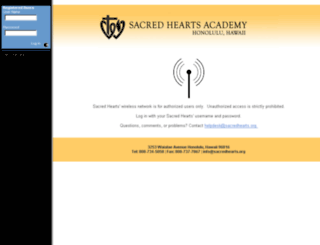 wifi.sacredhearts.org screenshot