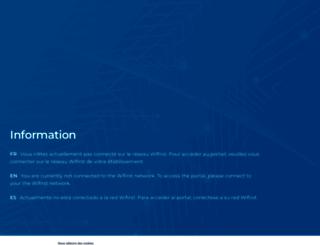 wifirst.net screenshot