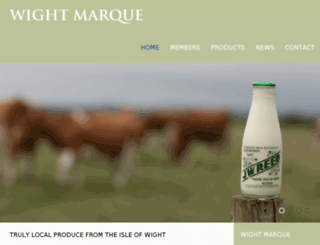 wightmarque.tasteofthewight.co.uk screenshot