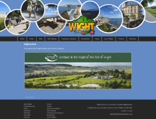wightonline.co.uk screenshot