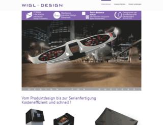 wigl-design.at screenshot