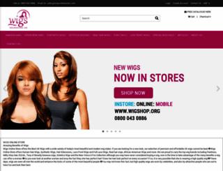 wigsonlinestore.com screenshot