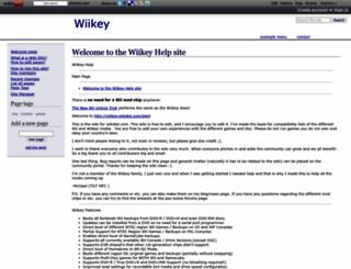 wiikey.wikidot.com screenshot