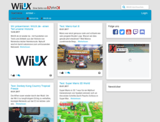 wiiux.de screenshot