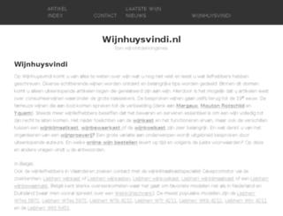 wijnhuysvindi.nl screenshot