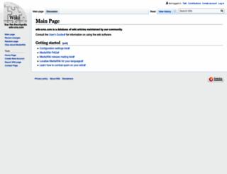 wiki-cms.com screenshot