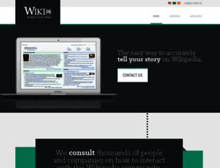 wiki-pr.com screenshot