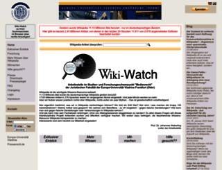 wiki-watch.de screenshot