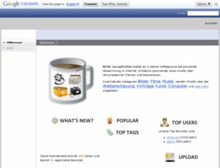 wiki.acupofcoffee.info screenshot