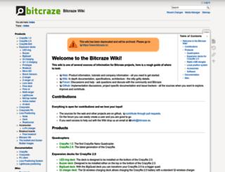 wiki.bitcraze.se screenshot