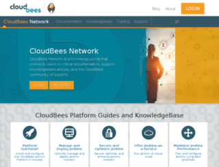 wiki.cloudbees.com screenshot