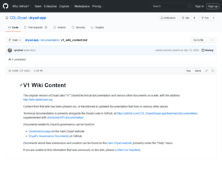 wiki.datadryad.org screenshot