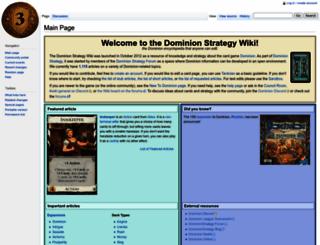 wiki.dominionstrategy.com screenshot