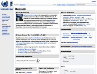 wiki.fernuni-hagen.de screenshot