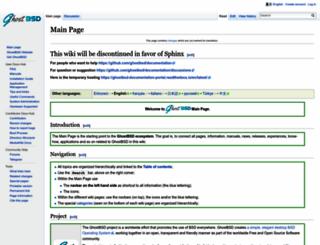 wiki.ghostbsd.org screenshot