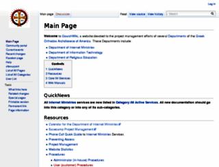 wiki.goarch.org screenshot