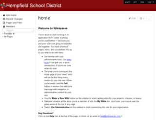 wiki.hempfieldsd.org screenshot