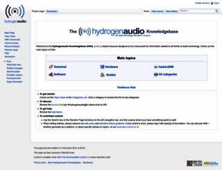 wiki.hydrogenaudio.org screenshot