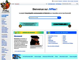 wiki.jvflux.com screenshot