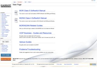 wiki.kolmisoft.com screenshot