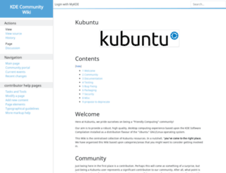 wiki.kubuntu.org screenshot