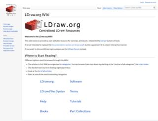 wiki.ldraw.org screenshot