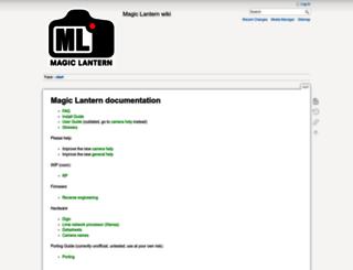 wiki.magiclantern.fm screenshot