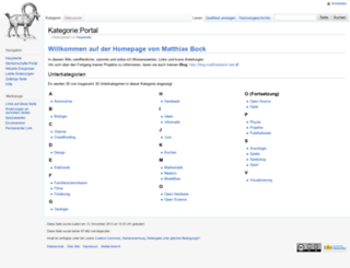 wiki.matthiasbock.net screenshot