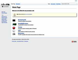 wiki.mikrotik.com screenshot